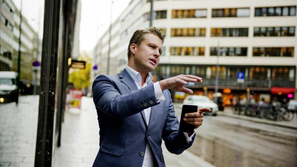 Best ikke nødvendigvis best:  Christoffer Askjer i Sem og Johnsen mener det kan være lurt å kjøpe leiligheter som ikke er helt perfekte. Foto: Håkon Sæbø/FA