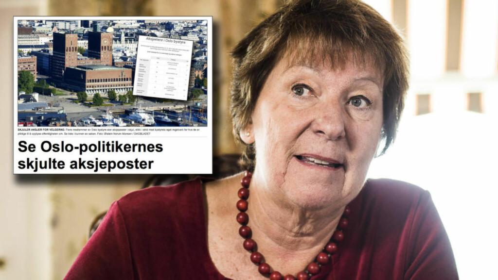 TAR GREP: Marianne Borgen (SV) er Oslos nyvalgte ordfører. Nå starter hun en full gjennomgang av bystyrets økonomiregister, etter at Dagbladet avslørte hvordan politikerne ikke opplyser om aksjeposter slik de skal i henhold til regelverket. Foto: Lars Eivind Bones / Dagbladet