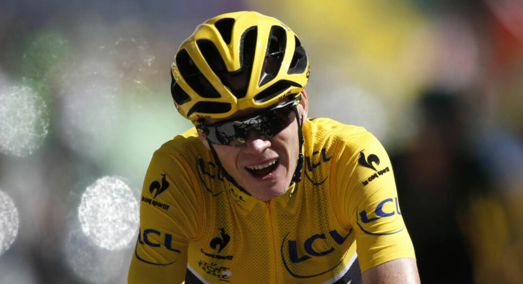OFFENTLIGGJØR RESULTATER: Chris Froome har flere ganger blitt hånet grunnet dopingbeskyldninger mot ham. Nå skal han publisere testverdier fra før vueltaen. Foto: Benoit Tessier (Scanpix/Reuters)