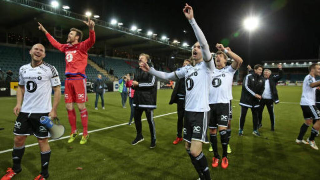 FEIRER: Rosenborg-gutta. Foto: Nina Hansen