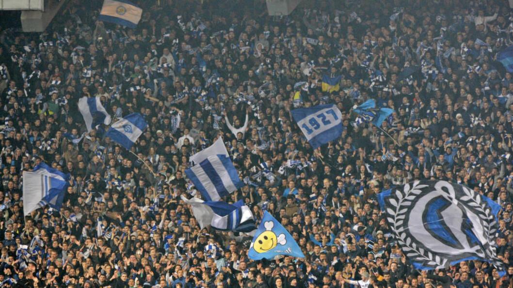 <strong>SJOKKERTE IGJEN:</strong> Dynamo Kiev ble straffet for rasisme på tribunen av UEFA så seint som i mars i år. Nå risikerer de ny straff. Klubbens mulige løsning på problemet er imidlertid oppsiktsvekkende. Foto: STR / NurPhoto / NTB Scanpix