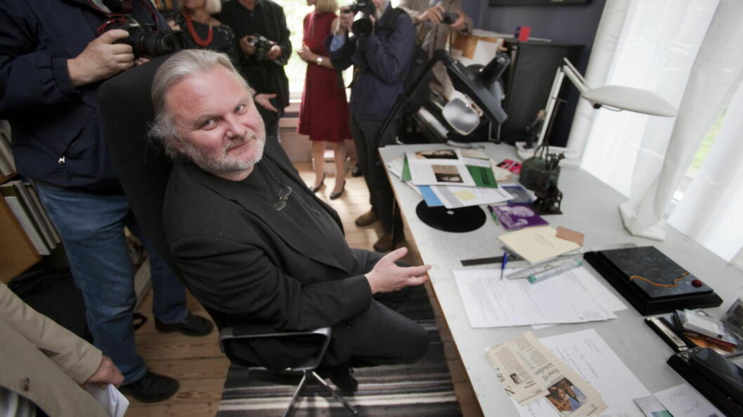 STORFAVORITT: Jon Fosse er storfavoritt før tildelingen av Nordisk råds litteraturpris tirsdag. Foto: TORBJØRN BERG / DAGBLADET