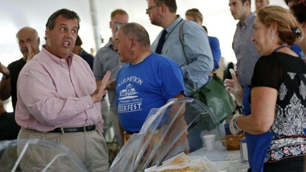 RASER: Valgkampsjefen til Chris Christie (bildet), Ken McKay, likte dårlig bakrommet New Jersey-guvernøren ble tildelt under den republikanske presidentdebatten i Colorado onsdag. Foto: AP Photo/Michael Dwyer