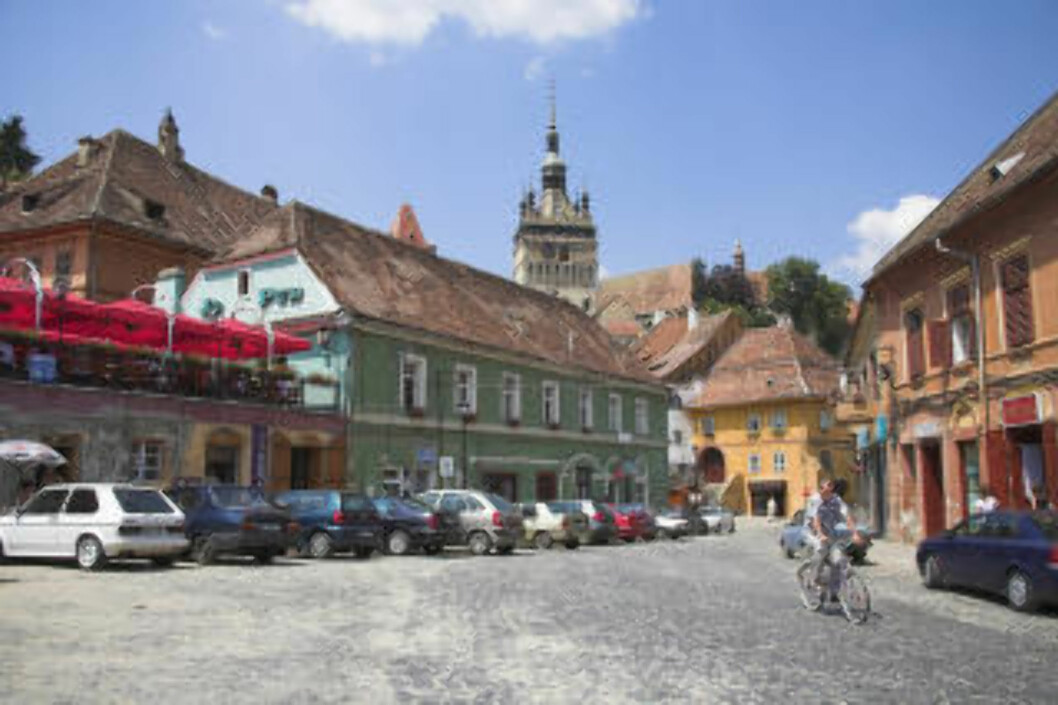 TRANSILVANIA: Byen Sighisoara i Transilvania. Foto: MEL LONGHURST / AKG-IMAGES / NTB SCANPIX