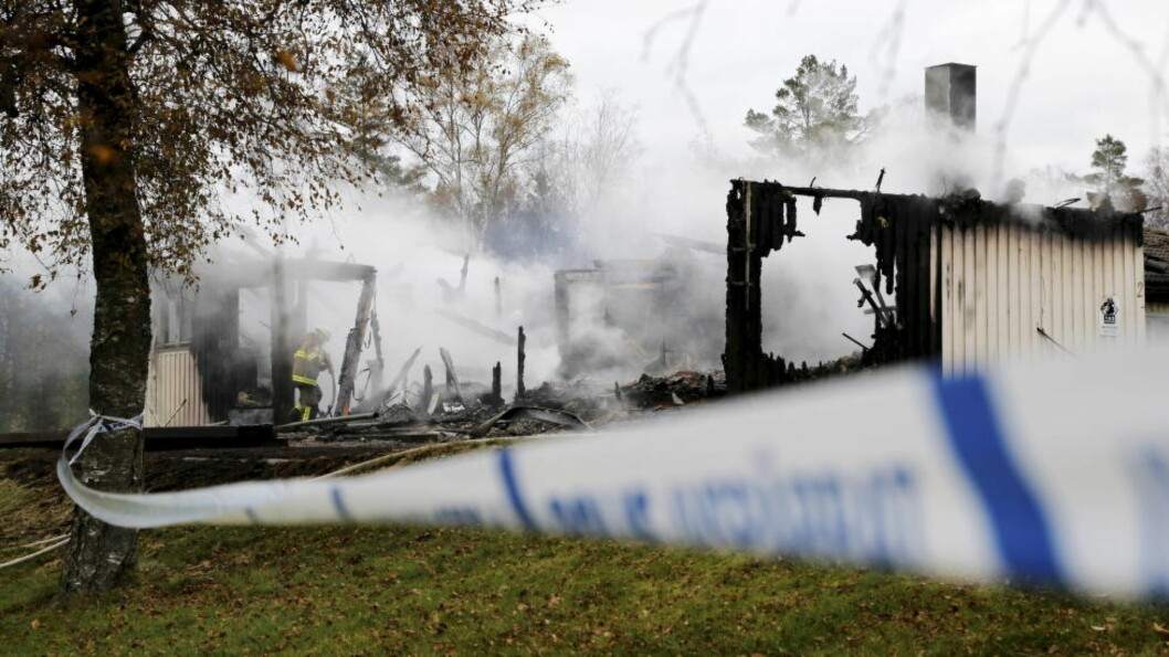 <strong> BRANN:</strong>  Det har i natt vært enda en brann på et asylmottak i Sverige. Foto: Reuters