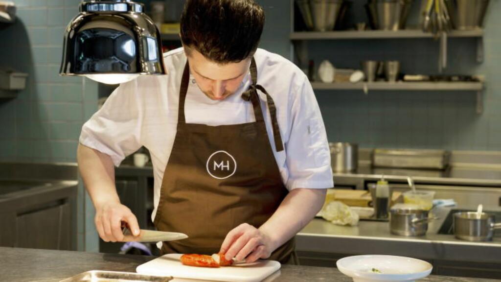 PRISVINNER: Gunnar Jensen var en av vinnerne i det nordnorske matlaget «Nordpå» under «Det norske måltid» i 2012. Foto: INGUN ALETTE MÆHLUM