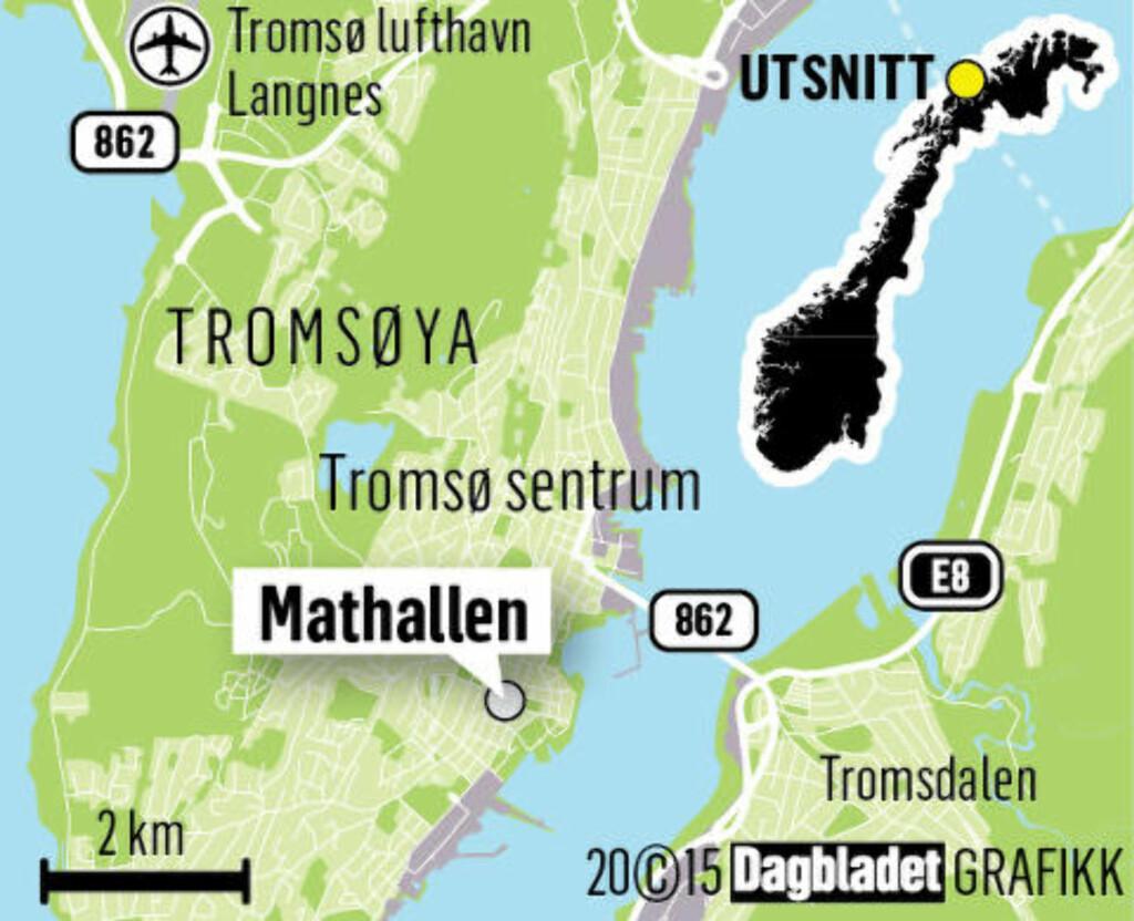 image: I Mathallen i Tromsø finner du Nord-Norge på menyen