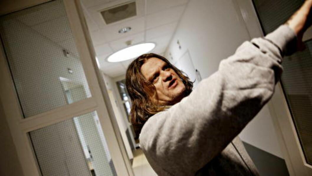 - MYE ER BRA:  Ove Jørgensen Høyland er de noske fangenes tillitsmann. - Mye er bra i Norgerhaven, men norske myndigheter har ikke holdt hva de lovet oss, sier Høyland. Foto: Jacques Hvistendahl / Dagbladet