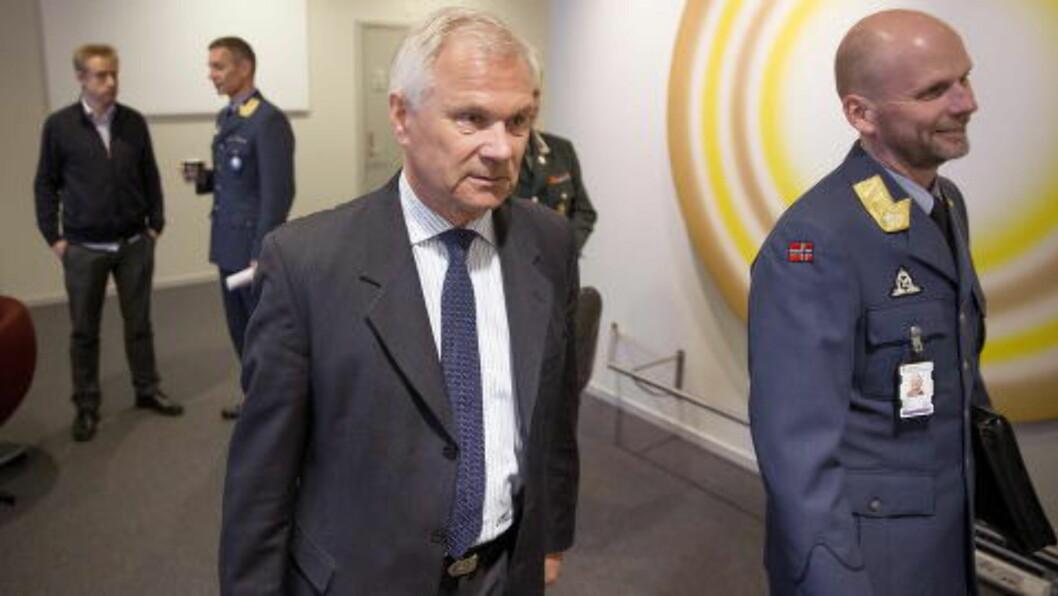 FLO-SJEF:  Administrerende direktør Petter Jansen (t.v.) i FLO. Foto: Bjørn Langsem / Dagbladet