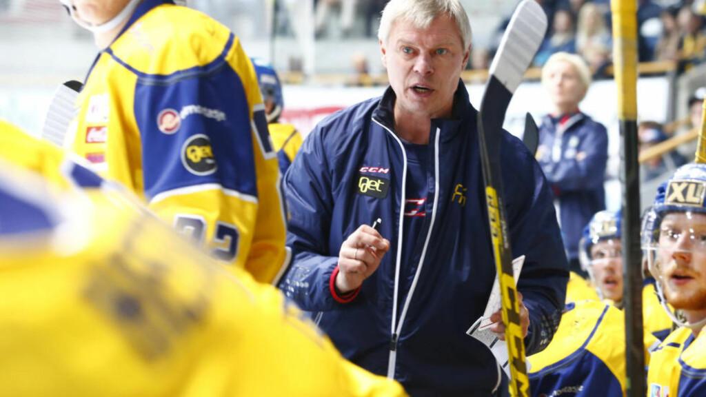 UTE: Vladimir Smirnov og hans Storhamar er slått ut av Champions League. Foto: Håkon Mosvold Larsen / NTB scanpix