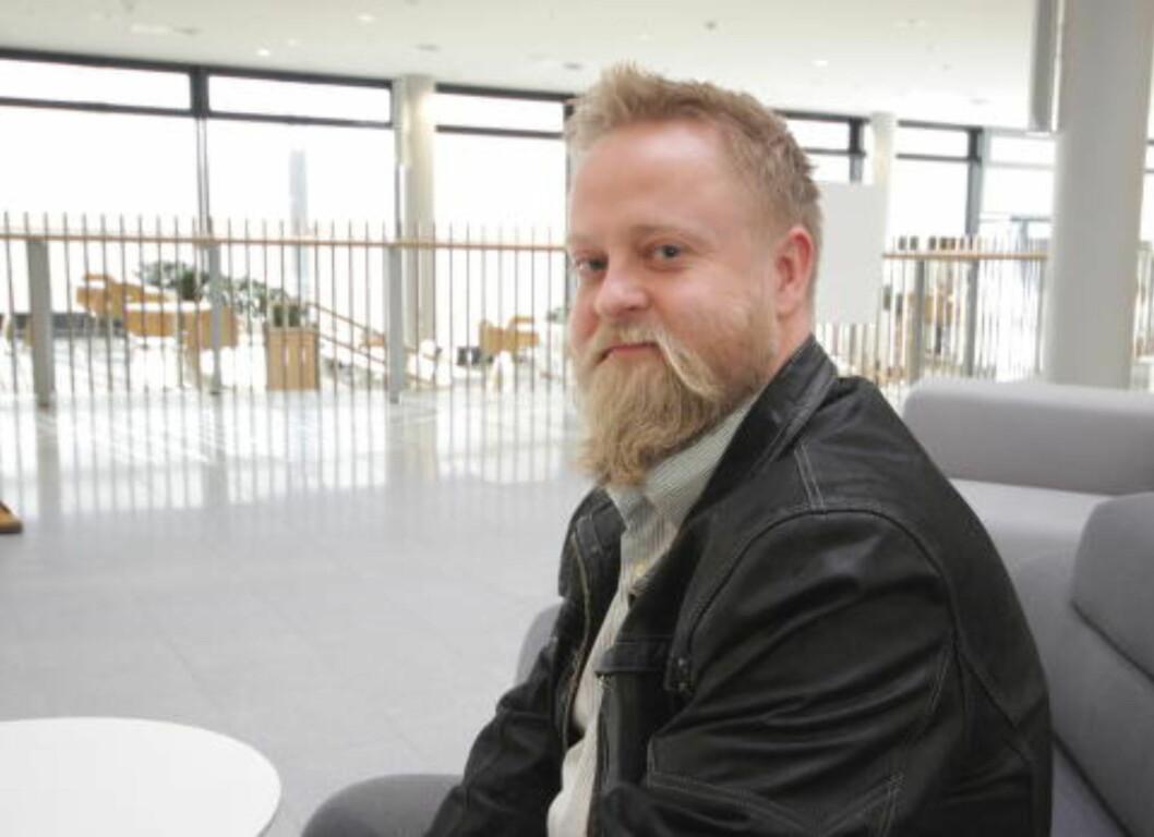 <strong>ØLENTUSIAST:</strong> Per-Øyvind Arnesen har vært med i dommerpanelet i våre øltester i flere år. Foto: MERETHE HOMMELSGÅRD