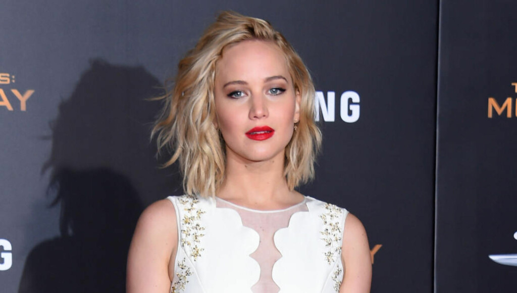 SUPERSTJERNE: Jennifer Lawrence på premieren av «Mockingjay: Part 2» i Los Angeles. Foto: NTB Scanpix