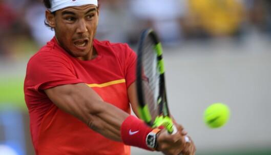 <strong>SPANIAS HÅP:</strong> Rafael Nadal. Foto: AFP PHOTO / Martin BERNETTI