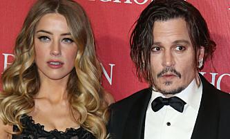 Filmet rasende Johnny Depp med mobilen