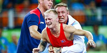 image: Stig Andre Berges rørende hilsen til sin døde mor etter OL-bronsen:  - Mamma, vi klarte målet vårt