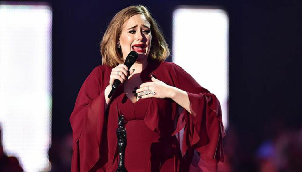 Tårevåt Adele kuppet Brit Awards