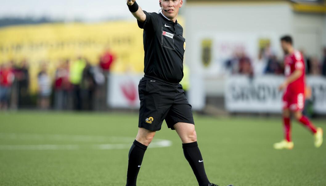 <strong>DØMTE FEIL:</strong> Kim Rune Østerlie Borgersen viste ut feil mann. &nbsp;Foto: Vegard Wivestad Grøtt / NTB scanpix