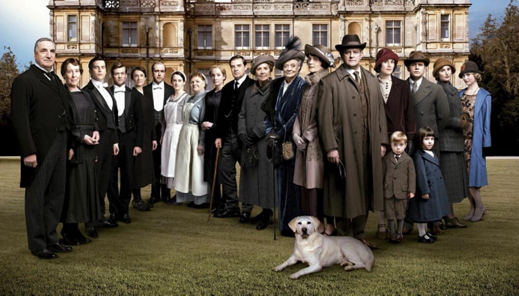 DOWNTON ABBEY: Det er laget seks sesonger og 52 episoder av serien om familien Crawley og tjenerstaben deres.