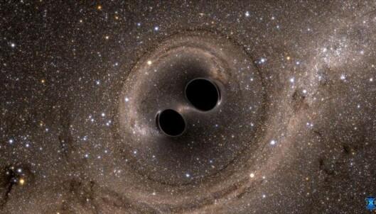 Slik høres gravitasjonsbølgene ut