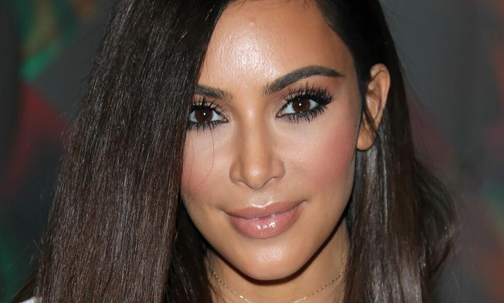 RUMPEJUKS: Kim Kardashian har en av verdens mest berømte bakdeler. Nå innrømmer realitystjerna at hun har tuklet med rumpa. Foto: Broadimage / NTB Scanpix
