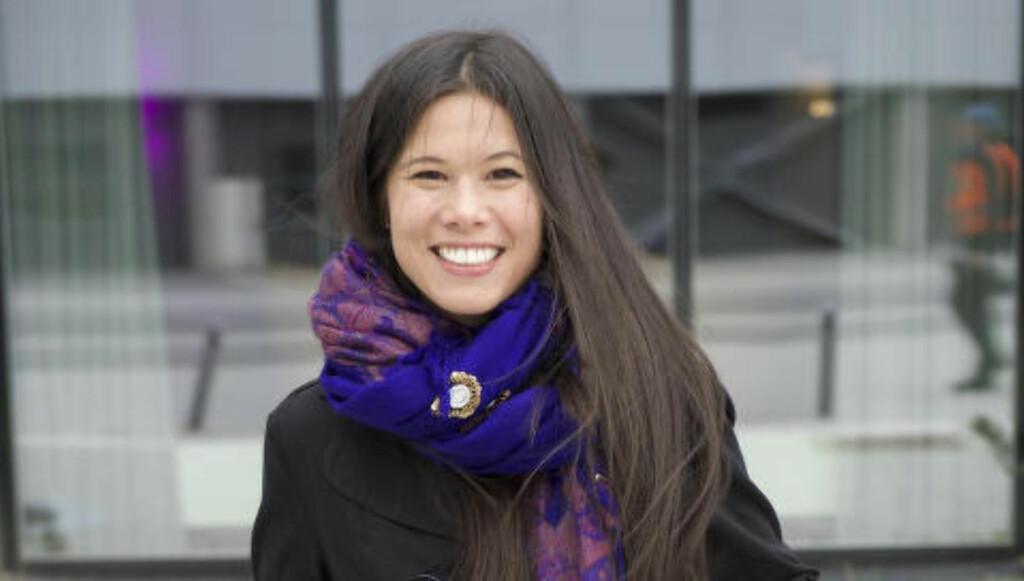 Lan Marie Nguyen Berg syns vi har et usunt forbruk i Norge. Foto: DF Wesenberg.