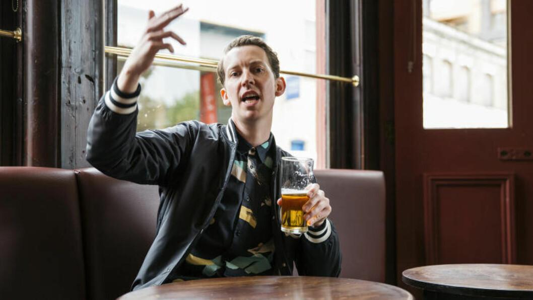 <strong>MANNEN BAK HETSEN:</strong> Mr. Bingo tjener godt på å fornærme folk han ikke kjenner, både på nett og per post. Foto: Privat