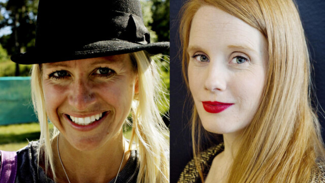2b3379a0 BARN I SOSIALE MEDIER: Celine Aagaard (til venstre) har en egen Instagram-
