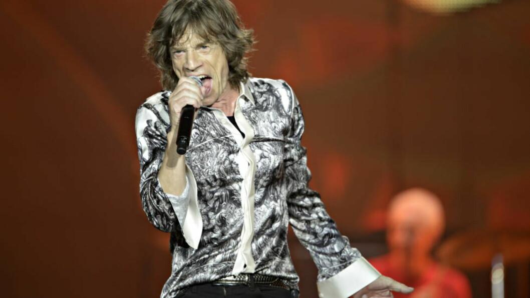 USTILLING: Rolling Stones, her representert ved frontmann Mick Jagger, skal holde utstilling ved Saatchi-galleriet i London til neste år. Foto Hans Arne Vedlog / Dagbladet