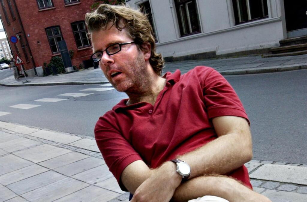 INNTRYKK: Journalist Jon Hustad mener norske journalister ikke kritiserer hverandre. Foto: TOM MARTINSEN/Dagbladet