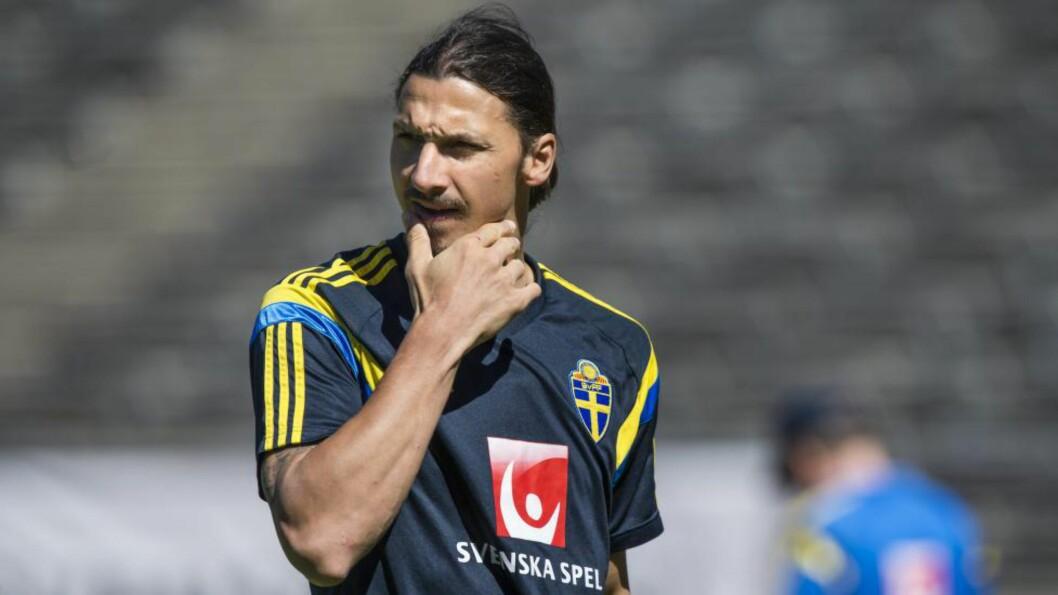 <strong>INGEN PRIS:</strong> Zlatan Ibrahimovic svarte ikke på om han ville komme til utdelingen på Öland, og ble derfor fjernet fra lista over kandidater.  Foto: Pontus Lundahl / TT / kod 10050
