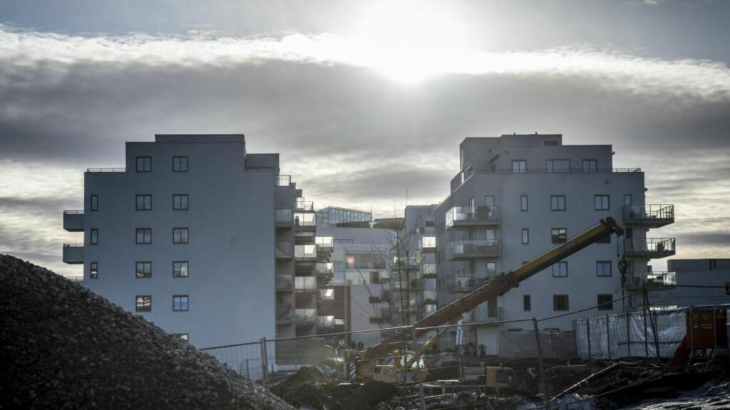 Prisene øker:  Boligprisene fortsetter oppover i mesteparten av landet.  Foto: Øistein Norum Monsen / Dagbladet