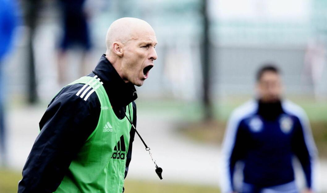 <strong>FÅR ANERKJENNELSE:</strong> Stabæk-trener Bob Bradlye befinner seg på en prestisjetung liste. Foto: Bjørn Langsem / Dagbladet