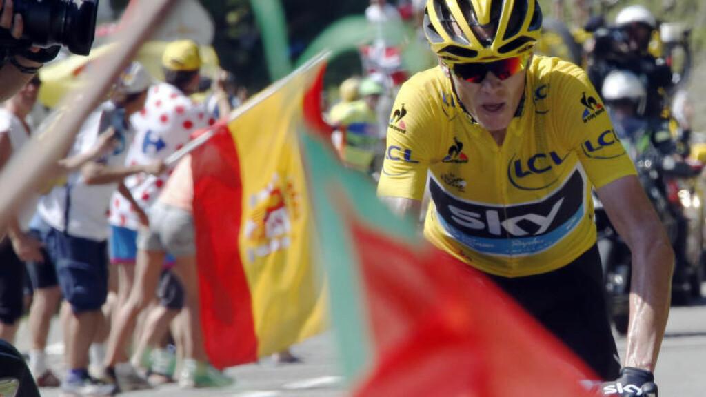 LEDER TOUR DE FRANCE: Chris Froome. Foto: REUTERS/Eric Gaillard
