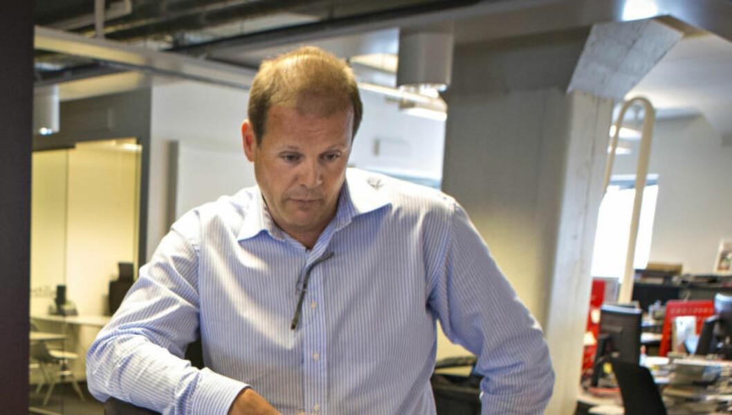 <strong>LOVPÅLAGT:</strong> Regiondirektør for Arbeidstilsynet i Oslo, Ørnulf Halmrast, sier til Dagbladet at alle bedrifter som bestiller renholdstjenester er lovpålagt å sjekke lønns- og arbeidsvilkårene til de som vasker for bedriften. Her ved. Foto: GEIR BARSTEIN/DAGBLADET