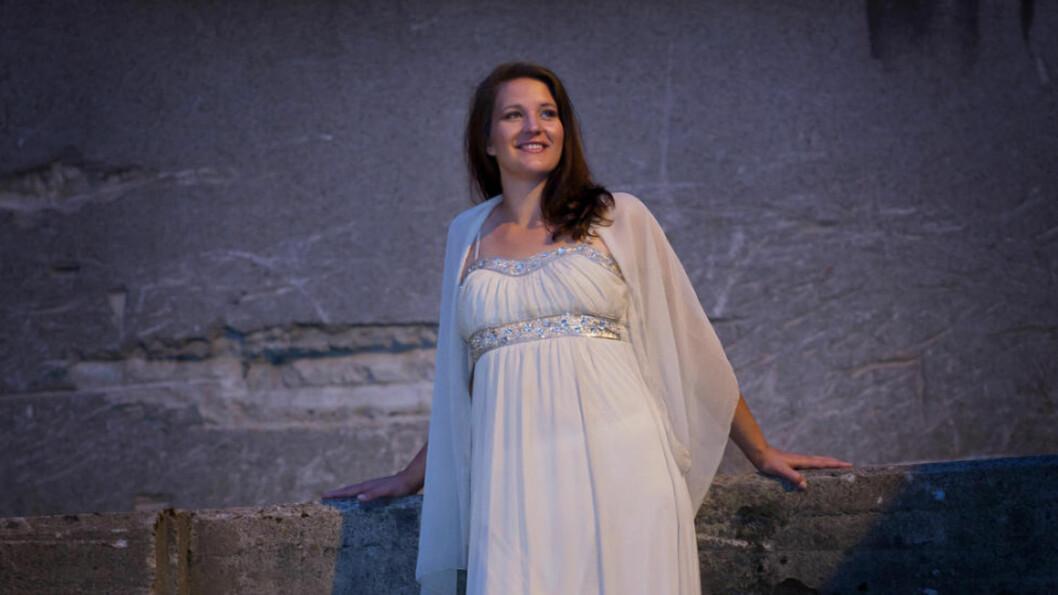 <strong>VANT:</strong> Den norske sopranen Lise Davidsen (28) kunne ta med seg hele tre priser hjem fra operakonkurransen Operalia i London søndag kveld. Foto: lisedavidsen.com