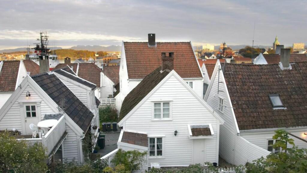 PRISNEDGANG: Ifølge Statistisk sentralbyrås boligprisindeks er Agder og Rogaland de eneste regionene med nedgang i boligprisene fra første til andre kvartal i år. Størst nedgang har oljebyen Stavanger med 2,1 prosent. Foto: TORE WUTTUDAL / SAMFOTO / NTB SCANPIX