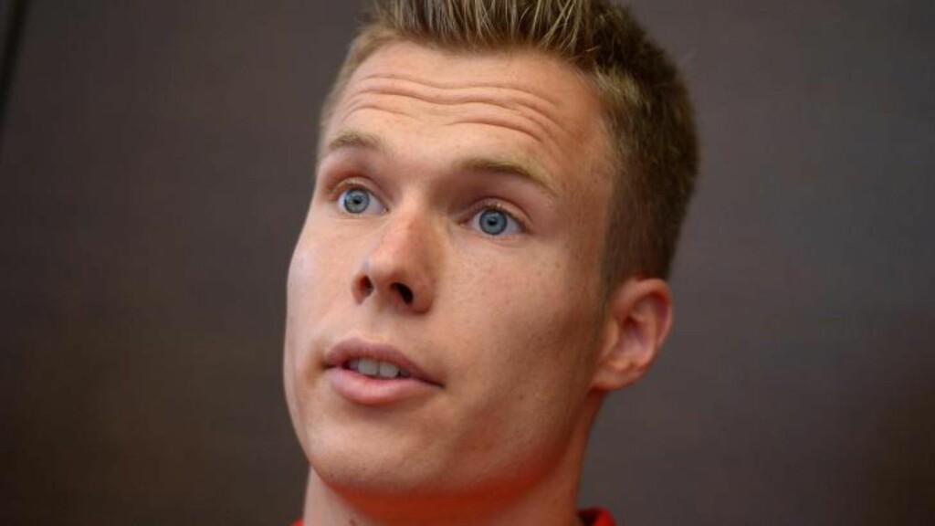 FORTVILER: Markus Rehm er Tysklands beste lengdehopper - men får ikke medalje dersom han vinner det nasjonale mesterskapet. Foto: EPA/RAINER JENSEN