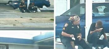 Da politibetjent Erica så en hjemløs mann hun ikke kjente, bestemte hun seg for å spise frokost med ham
