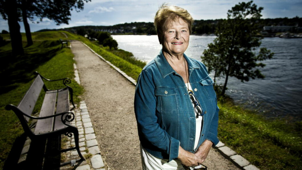 <strong>KAMPSAK:</strong> Gro Harlem Brundtland gleder seg over at verdens første malariavaksine endelig har fått grønt lys og er blitt godkjent av europeiske legemiddelmyndigheter. Foto: JOHN TERJE PEDERSEN