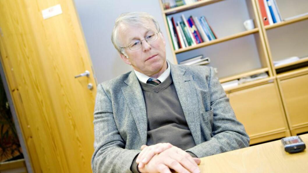 I SPISSEN: Ordfører i Stange, Nils A. Røhne (Ap). Foto: Luca Kleve-Ruud / Dagsavisen / Samfoto / NTB Scanpix