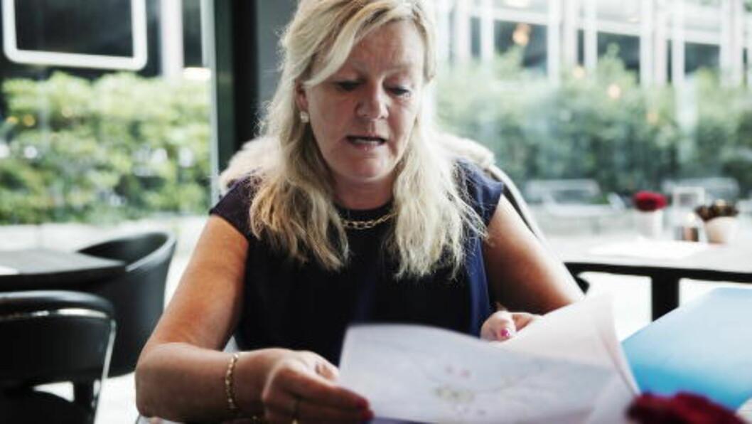 <strong>- ET FORHASTET VEDTAK:</strong> Fylkesleder Kari Raustein i Rogaland Frp bor selv på øya. Hun sier folk er opprørt. Foto: Bjørn Langsem / Dagbladet