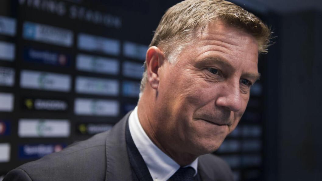 <strong> FORLENGER:</strong>  Kjell Jonevret blir i Viking ut 2018-sesongen.  Foto: Carina Johansen / NTB scanpix