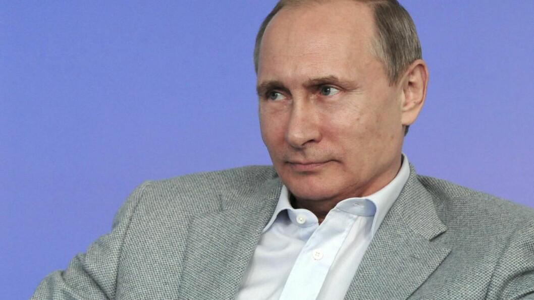 <strong>KREVER OMRÅDER PÅ NORDPOLEN:</strong> Russiske myndigheter har lagt fram et krav for FNs kontinentalsokkelkommisjon, om områder som strekker seg forbi Nordpolen. Foto: NTB Scanpix