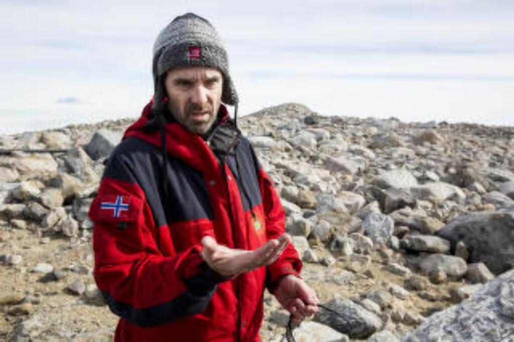 IKKE BARE OLJE OG GASS:  Direktør Jan-Gunnar Winther i Norsk Polarinstitutt. Foto: Tore Meek / NTB Scanpix.