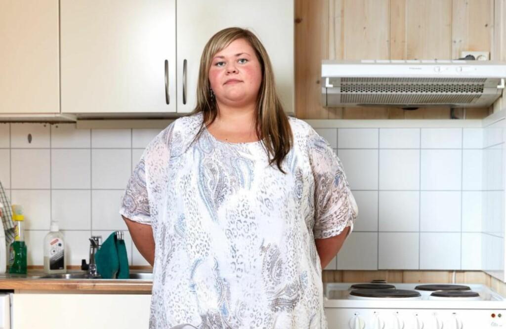 TILBAKE TIL START: Wenke avlyste den planlagte slankeoperasjonen, med mål om å gå ned i vekt på egenhånd. Istedenfor gikk hun bare opp igjen. Foto: Paul Paiewonsky / Dagbladet