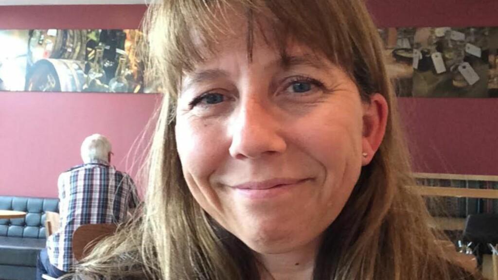 PASSASJER: Helena Therese Langeland ble sjokkert da hun forsto at besetningsmedlemmer på flyet hun skulle ta til Kreta var blitt tatt med promille. Foto: Privat