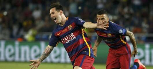 Barca vant Super Cup-finalen etter målshow og ekstraomganger