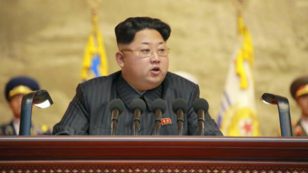 NORD-KOREAS LEDER: Kim Jong-un. Foto: Xinhua/Polaris
