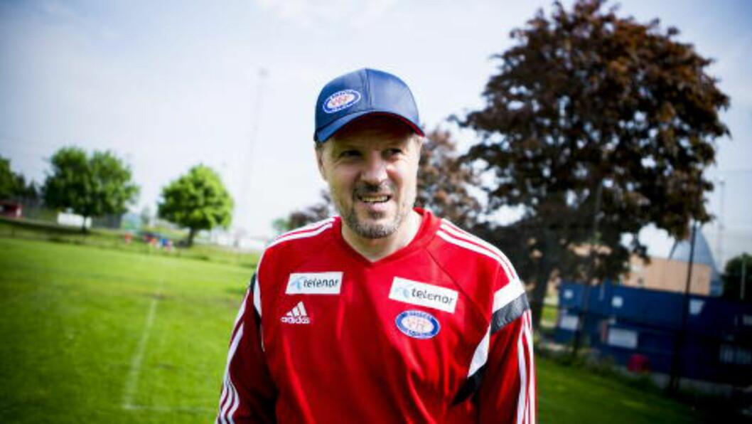 <strong>VIF-TRENER:</strong> Kjetil Rekdal vraker trolig Ghayas Zahid til oppgjøret mot Rosenborg. Foto: CHRISTIAN ROTH CHRISTENSEN
