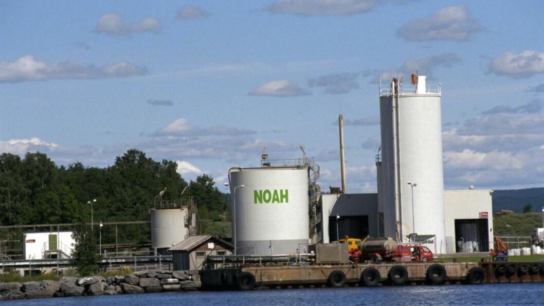 <strong> SIER NEI:</strong>  Både NOAH og ordførerne rundt Langøya er sterkt skeptiske til Regjeringens ønske om å lagre gruveslam på Langøya. Foto: Fotoweb